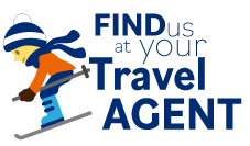 find us at your travel agent